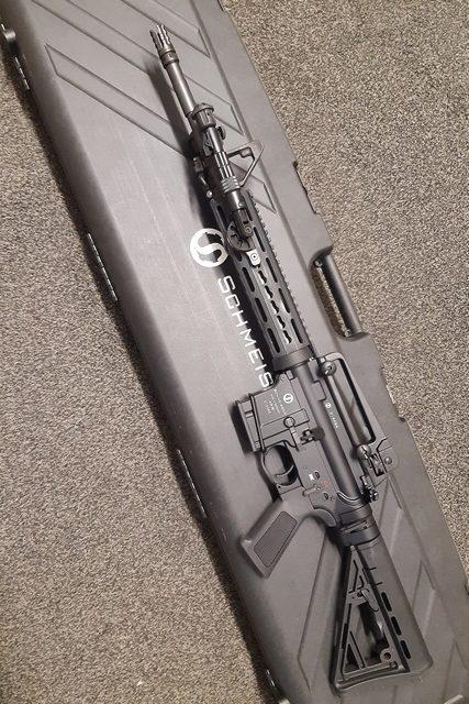Schmeisser AR15 M5 Keymod mit Zweibein Image